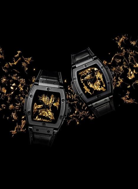 砺时成金 HUBLOT宇舶表BIG BANG灵魂系列黄金晶体腕表重磅发布